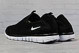 Кроссовки мужские 17494, Nike Free 3.0, черные, [ 43 44 45 ] р. 43-27,5см., фото 4