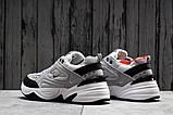 Кроссовки мужские 20043, Nike M2K techno, серые, [ 40 41 ] р. 40-25,0см., фото 4