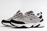 Кроссовки мужские 20043, Nike M2K techno, серые, [ 40 41 ] р. 40-25,0см., фото 6