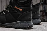 Зимние мужские кроссовки 31231, Columbia Waterproof, черные, [ 42 43 44 ] р. 41-26,5см., фото 4