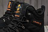 Зимние мужские кроссовки 31231, Columbia Waterproof, черные, [ 42 43 44 ] р. 41-26,5см., фото 5