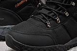 Зимние мужские кроссовки 31231, Columbia Waterproof, черные, [ 42 43 44 ] р. 41-26,5см., фото 6