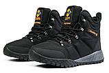 Зимние мужские кроссовки 31231, Columbia Waterproof, черные, [ 42 43 44 ] р. 41-26,5см., фото 8