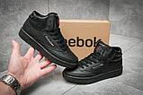 Кроссовки женские 12381, Reebok  Club C 85 Face, черные, [ 37 ] р. 37-23,4см., фото 2