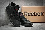 Кроссовки женские 12381, Reebok  Club C 85 Face, черные, [ 37 ] р. 37-23,4см., фото 3