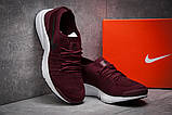 Кроссовки мужские 12552, Nike Air, бордовые, [ 41 ] р. 41-25,9см., фото 3
