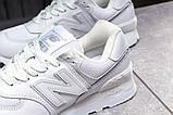 Кроссовки женские 17871, New Balance  574, белые, [ 36 38 ] р. 36-22,3см., фото 7