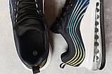 Кроссовки женские 17241, Air, черные, [ 36 37 38 39 ] р. 36-23,5см., фото 5