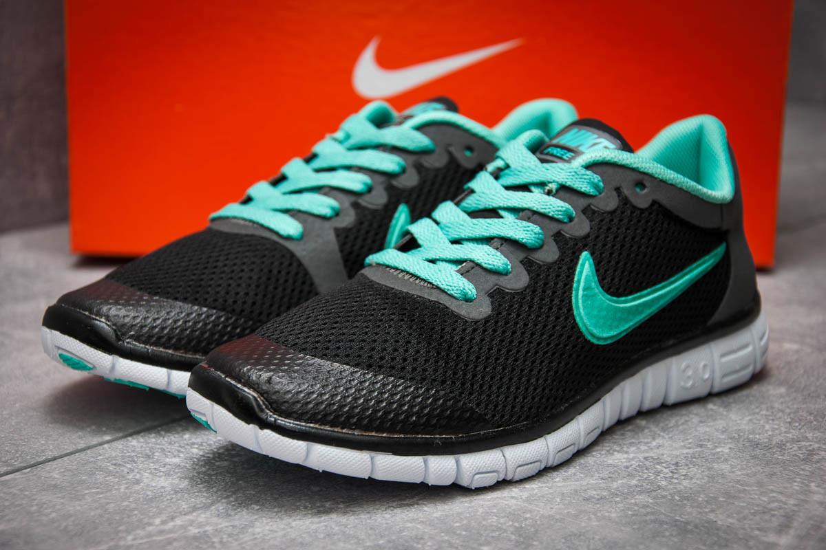 Кроссовки женские 12997, Nike Air Free 3.0, черные, [ 36 38 ] р. 36-22,3см.