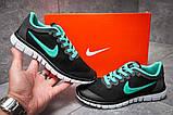 Кроссовки женские 12997, Nike Air Free 3.0, черные, [ 36 38 ] р. 36-22,3см., фото 2
