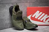 Кроссовки мужские 14082, Nike Air Max, зеленые, [ 42 45 ] р. 42-26,5см., фото 3