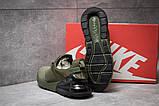 Кроссовки мужские 14082, Nike Air Max, зеленые, [ 42 45 ] р. 42-26,5см., фото 4