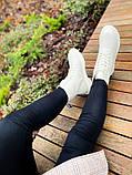 Женские ботинки Dr.Martens 1460 White Cream мех(копия), фото 9