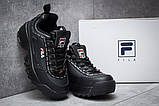 Кроссовки женские 14761, Fila Disruptor 2, черные, [ 38 ] р. 38-23,6см., фото 3