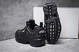 Кроссовки женские 14761, Fila Disruptor 2, черные, [ 38 ] р. 38-23,6см., фото 4