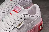 Кроссовки женские 17991, Puma Cali Sport, белые, [ 36 37 38 39 40 ] р. 36-22,5см., фото 6