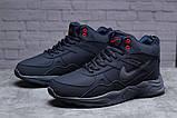 Зимние мужские кроссовки 31311, Nike ZooM Air Span, темно-синие, [ нет в наличии ] р. 41-26,5см., фото 2