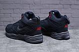 Зимние мужские кроссовки 31311, Nike ZooM Air Span, темно-синие, [ нет в наличии ] р. 41-26,5см., фото 3
