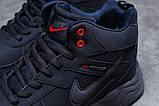 Зимние мужские кроссовки 31311, Nike ZooM Air Span, темно-синие, [ нет в наличии ] р. 41-26,5см., фото 5