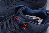 Зимние мужские кроссовки 31311, Nike ZooM Air Span, темно-синие, [ нет в наличии ] р. 41-26,5см., фото 6