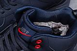 Зимние мужские кроссовки 31311, Nike ZooM Air Span, темно-синие, [ нет в наличии ] р. 41-26,5см., фото 7