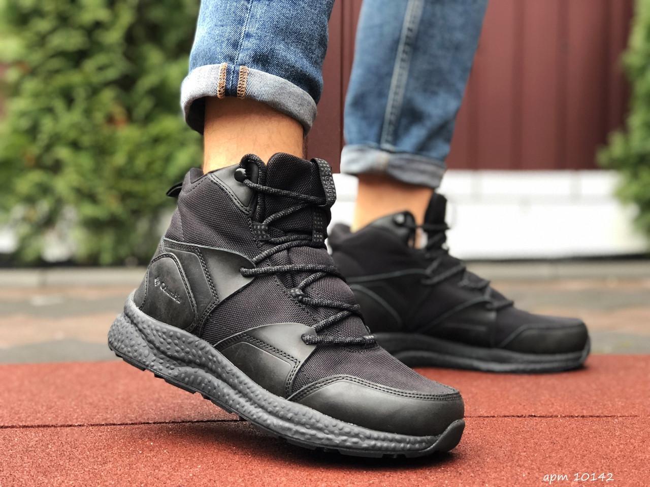 Мужские зимние ботинки Columbia (черные) 10142