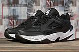 Кроссовки мужские 16954, Nike Air, черные, [ 44 ] р. 44-28,5см., фото 2