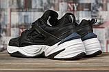 Кроссовки мужские 16954, Nike Air, черные, [ 44 ] р. 44-28,5см., фото 4