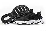 Кроссовки мужские 16954, Nike Air, черные, [ 44 ] р. 44-28,5см., фото 6