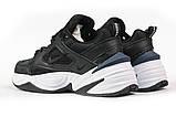 Кроссовки мужские 16954, Nike Air, черные, [ 44 ] р. 44-28,5см., фото 9
