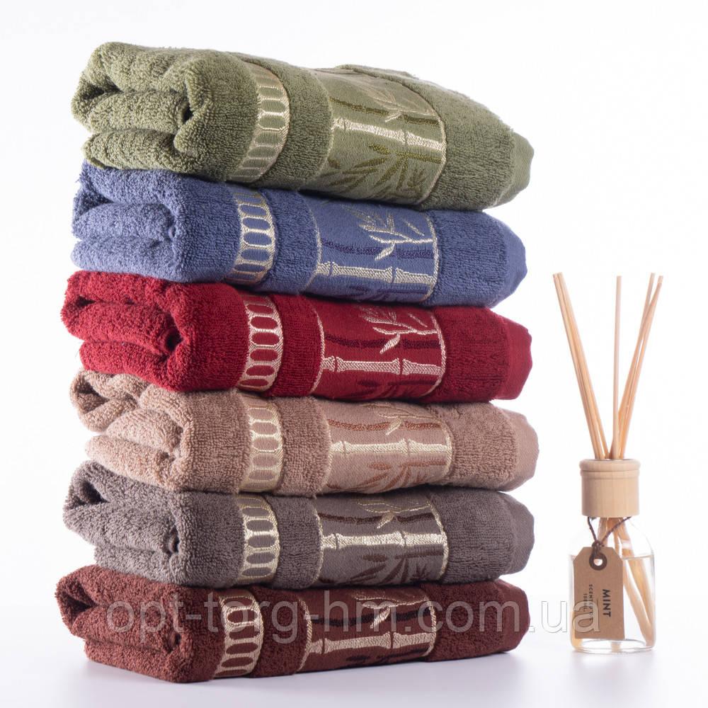 Полотенца бамбук махровые 140см*70см