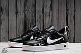 Кроссовки женские 16699, Nike Air, черные, [ 36 37 38 41 ] р. 36-22,5см., фото 2