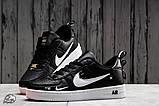 Кроссовки женские 16699, Nike Air, черные, [ 36 37 38 41 ] р. 36-22,5см., фото 3