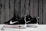 Кроссовки женские 16699, Nike Air, черные, [ 36 37 38 41 ] р. 36-22,5см., фото 4