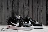 Кроссовки женские 16699, Nike Air, черные, [ 36 37 38 41 ] р. 36-22,5см., фото 6