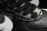 Кроссовки женские 16699, Nike Air, черные, [ 36 37 38 41 ] р. 36-22,5см., фото 7