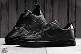 Кроссовки мужские 17743, Nike Air, черные, [ 42 ] р. 42-26,5см., фото 3