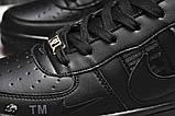 Кроссовки мужские 17743, Nike Air, черные, [ 42 ] р. 42-26,5см., фото 6