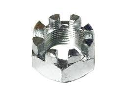 Гайка прорезная (корончатая) DIN 935 исп.2 М6....М42