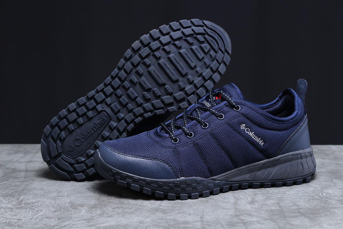 Кроссовки мужские 18003, Columbia, темно-синие, [ 43 44 45 46 ] р. 43-28,2см.