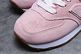Зимние женские кроссовки 31353, New Balance 574 (мех), бледно-розовые, [ 38 40 ] р. 38-24,0см., фото 4