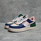 Кроссовки женские 17471, Nike Air Force 1, розовые, [ 36 37 38 40 ] р. 36-22,8см., фото 2