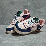 Кроссовки женские 17471, Nike Air Force 1, розовые, [ 36 37 38 40 ] р. 36-22,8см., фото 3