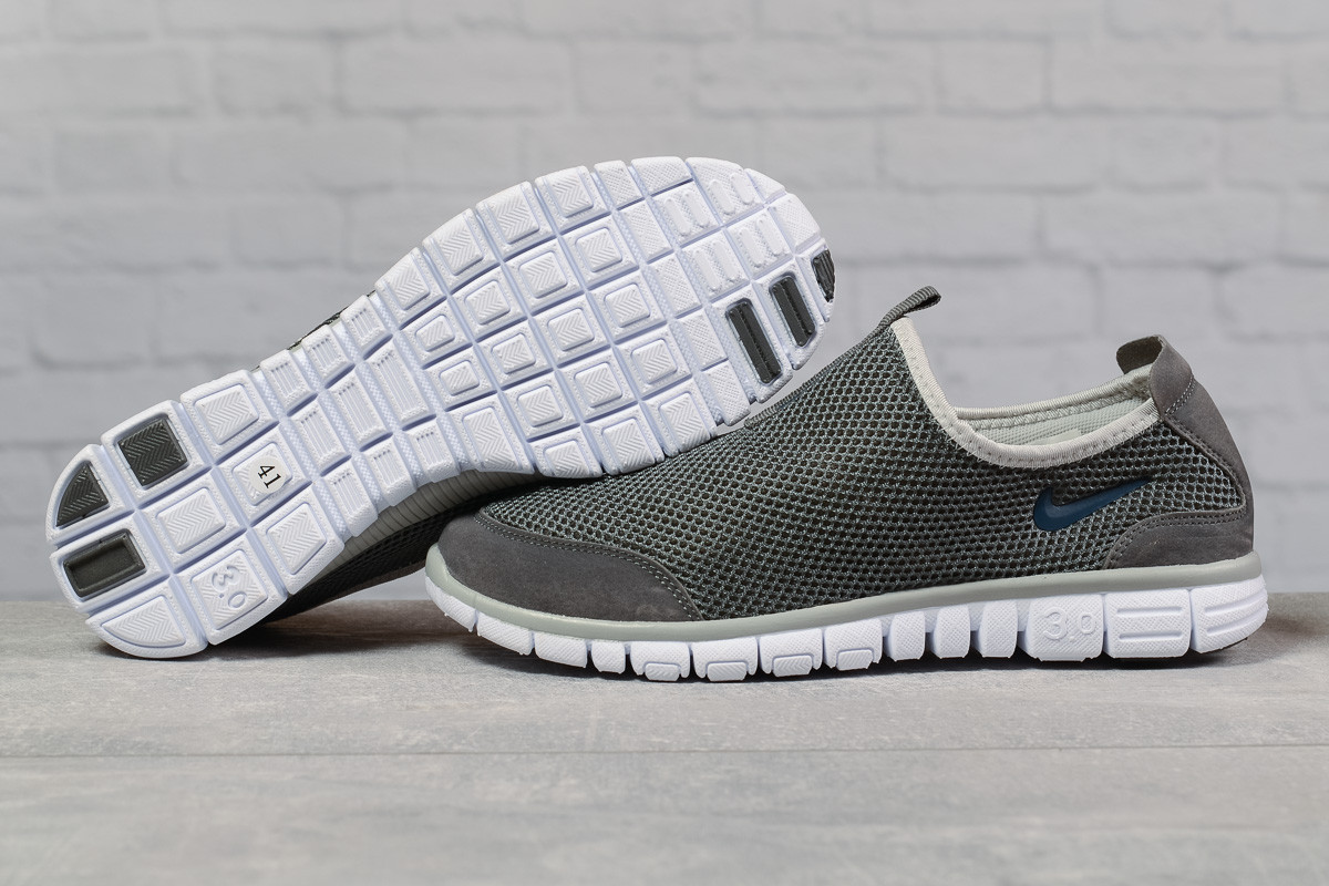Кроссовки мужские 17491, Nike Free 3.0, серые, [ 44 ] р. 44-28,0см.