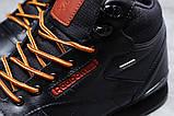 Зимние мужские кроссовки 31482, Reebok Classic (мех), черные, [ нет в наличии ] р. 45-29,0см., фото 6