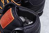 Зимние мужские кроссовки 31482, Reebok Classic (мех), черные, [ нет в наличии ] р. 45-29,0см., фото 7