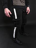 Мужские зимние спортивные штаны Double Scar