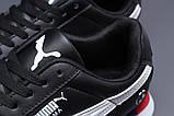 Кроссовки мужские 18023, Puma Roma, черные, [ 46 ] р. 46-29,0см., фото 5