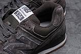 Кроссовки мужские 18051, New Balance  574, темно-серые, [ 41 43 44 45 ] р. 41-26,5см. 42, фото 6