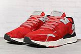 Кроссовки мужские 17297, Adidas 3M, красные, [ 41 42 43 44 45 46 ] р. 41-25,2см., фото 2